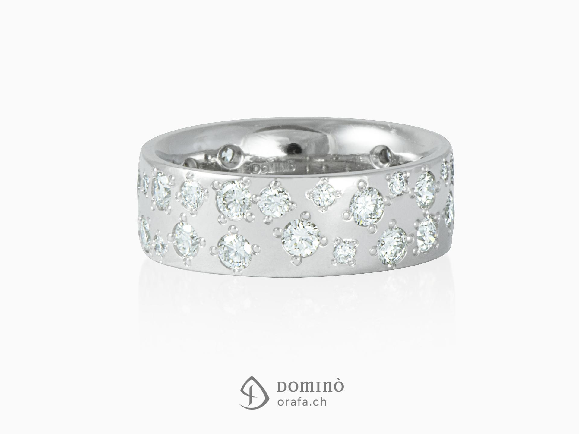 Rain of diamonds ring