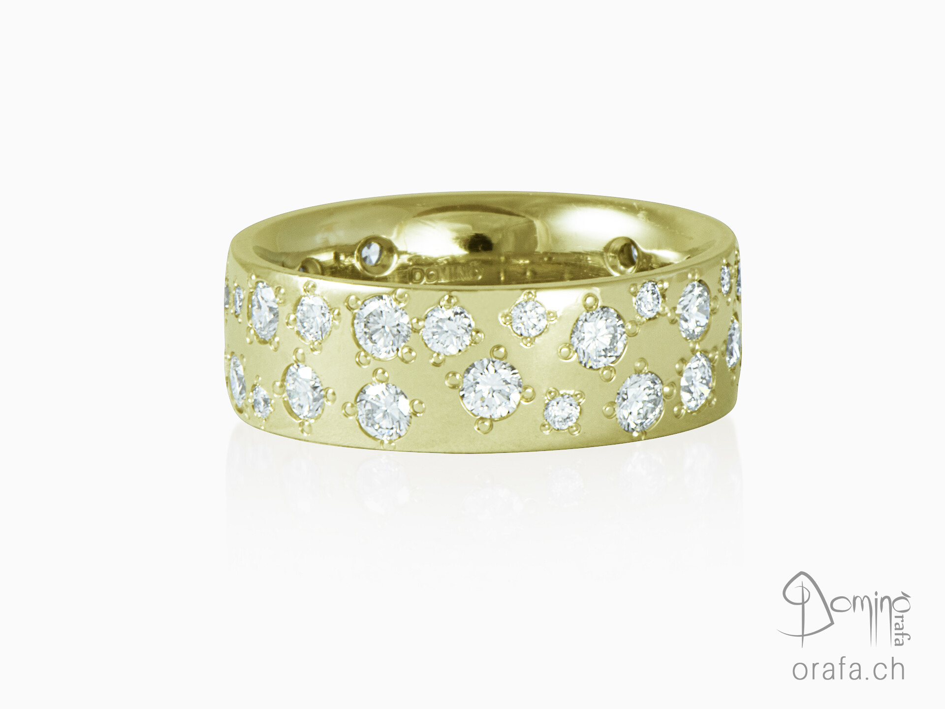 Rain of diamonds ring