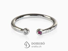 anello-rubino-diamante-aperto-oro-bianco