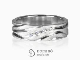 anello-satinato-solchi-lucidi-4-diamanti-oro-bianco