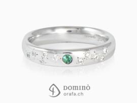 anello-smeraldo-centrale-10-diamanti-sparsi-stelle-oro-bianco