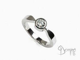 anello-solitario-lucido-diamante-0,23ct-oro-bianco