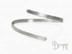 Rigid bracelet White gold 18 kt