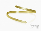 Rigid bracelet Yellow gold 18 kt