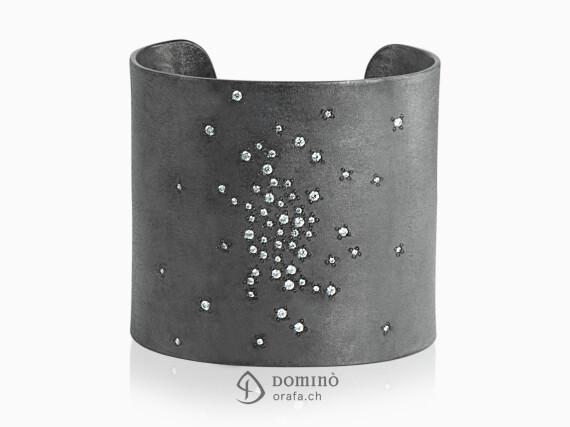 bracciale-pioggia-diamanti-sabbiato-ossidato-grande-argento