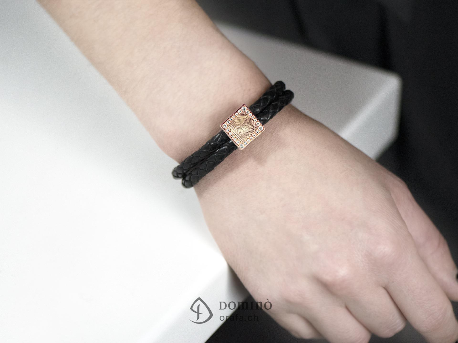 braccialetto-cuoio-impronta-digitale-quadrata-contorno-diamanti-3