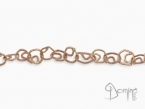 Fantasy bracelet Red gold 18 kt
