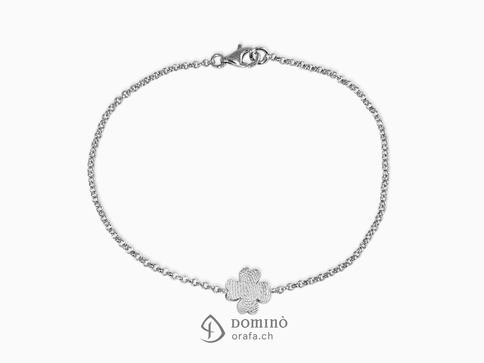 braccialetto-quadrifoglio-vostra-impronta-digitale-oro-bianco