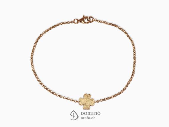 braccialetto-quadrifoglio-vostra-impronta-digitale-oro-rosso