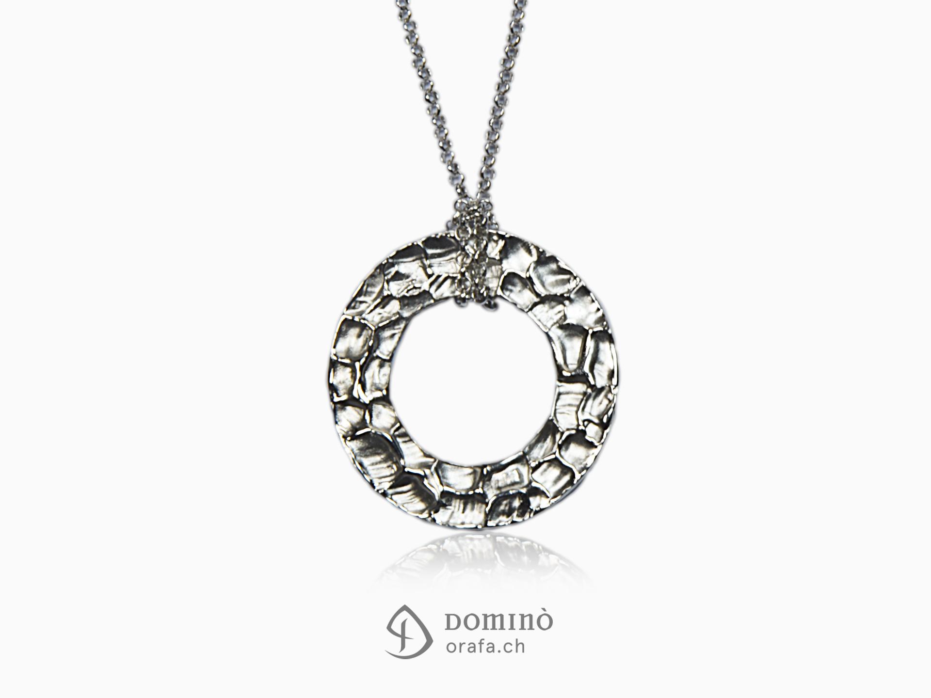 ciondolo-circolare-gocce-grandi-catena-argento