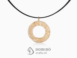 ciondolo-circolare-sentiero-diamanti-pave-oro-rosso