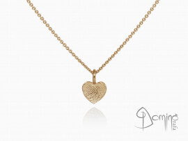 ciondolo-cuore-impronta-digitale-oro-rosso