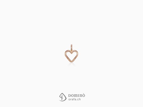 ciondolo-mini-cuore-sabbiato-oro-rosso