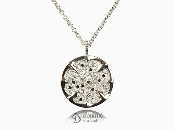 ciondolo-quadrifoglio-diamanti-incolore-grig-neri-oro-bianco