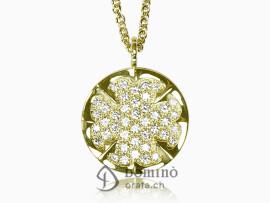 ciondolo-quadrifoglio-diamanti-oro-giallo