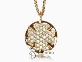 ciondolo-quadrifoglio-diamanti-oro-rosso
