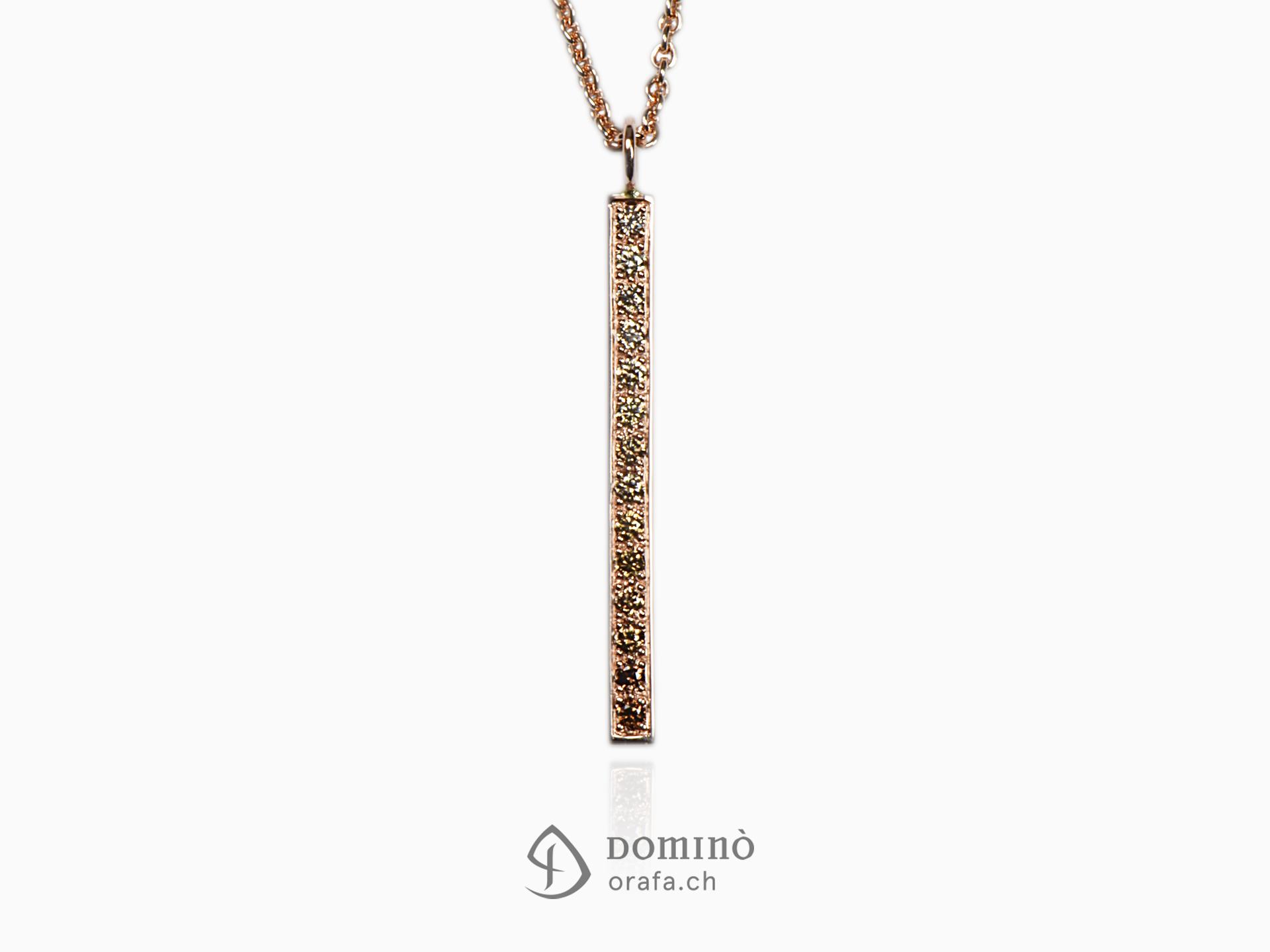 ciondolo-sfumatura-diamanti-brown-lineare-medio-oro-rosso