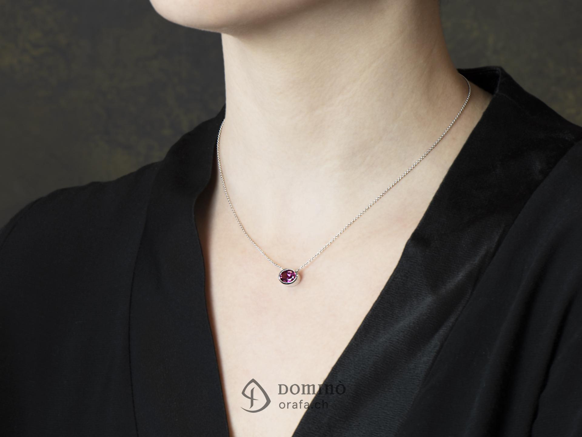 collana-oro-bianco-tormalina-rosa-ovale-1,77ct-1