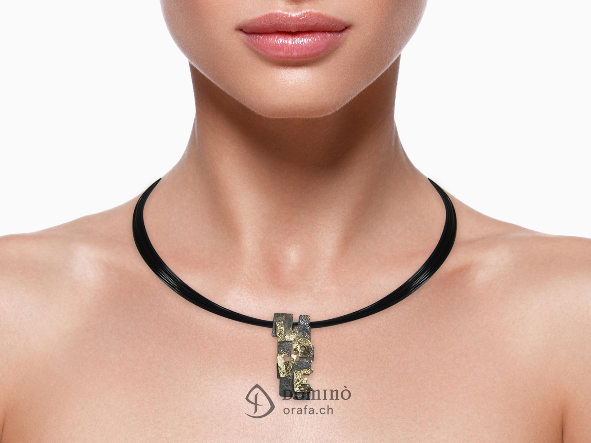 collier-love-frammenti-argento-ossidato-oro-giallo-1