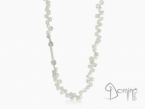 Pearls necklace Sterling silver