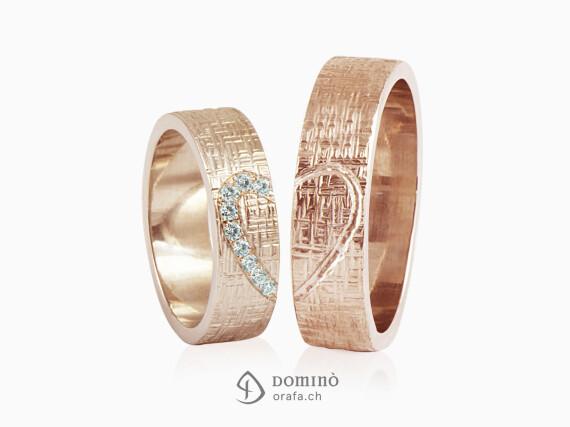 fedi-nuziali-linee-incrociate-contorno-cuore-diamanti-incisione-oro-rosso