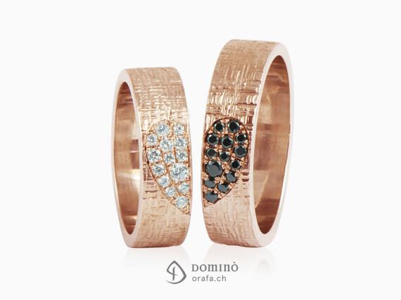 fedi-nuziali-linee-incrociate-cuore-diamanti-incolore-neri-oro-rosso