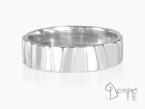 Irregular Scalini ring White gold 18 kt