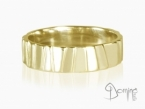 Irregular Scalini ring Yellow gold 18 kt