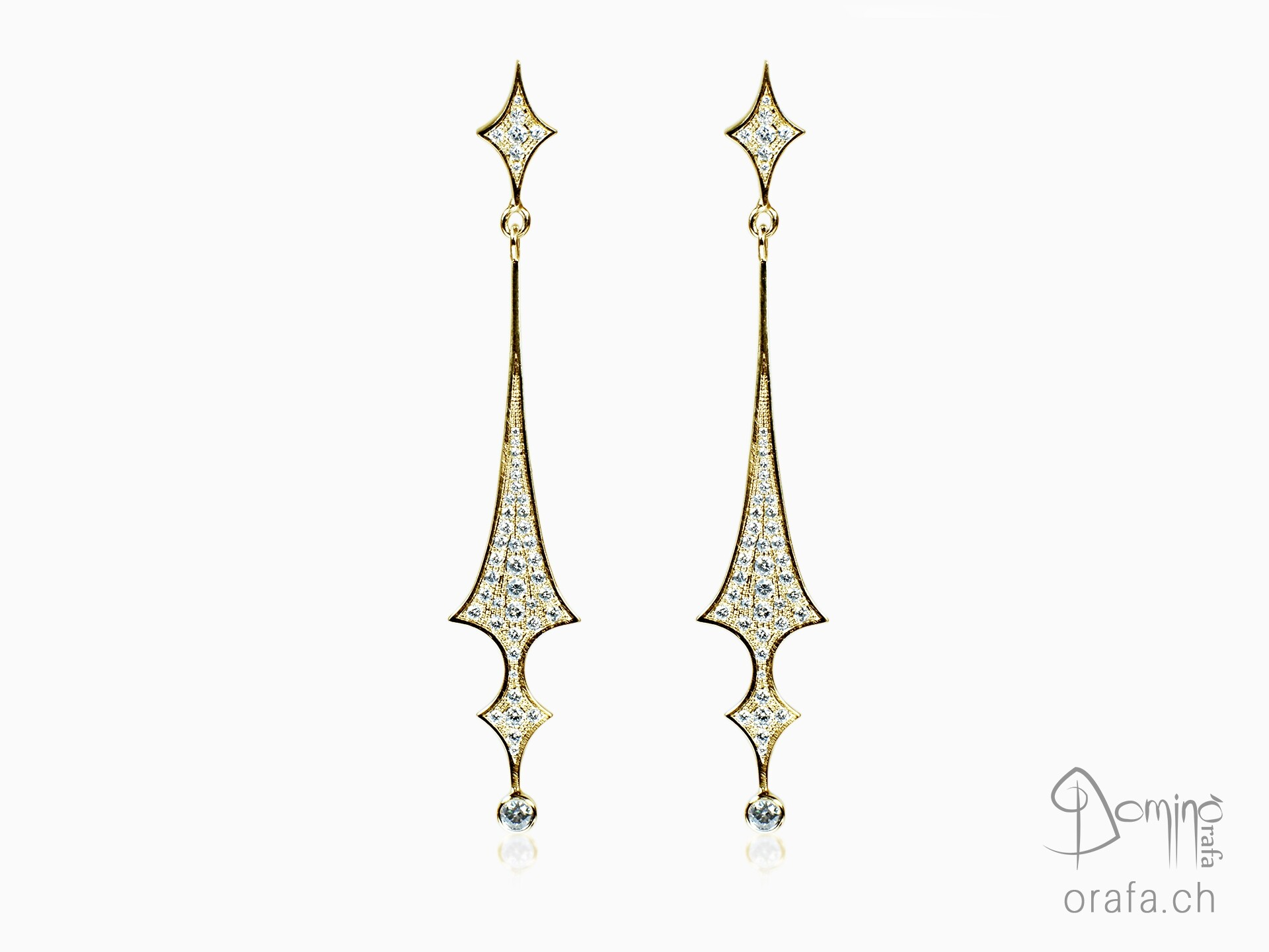 Diamonds earrings
