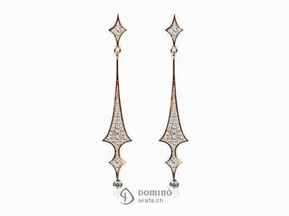 orecchini-lunghi-punte-diamanti-oro-rosso
