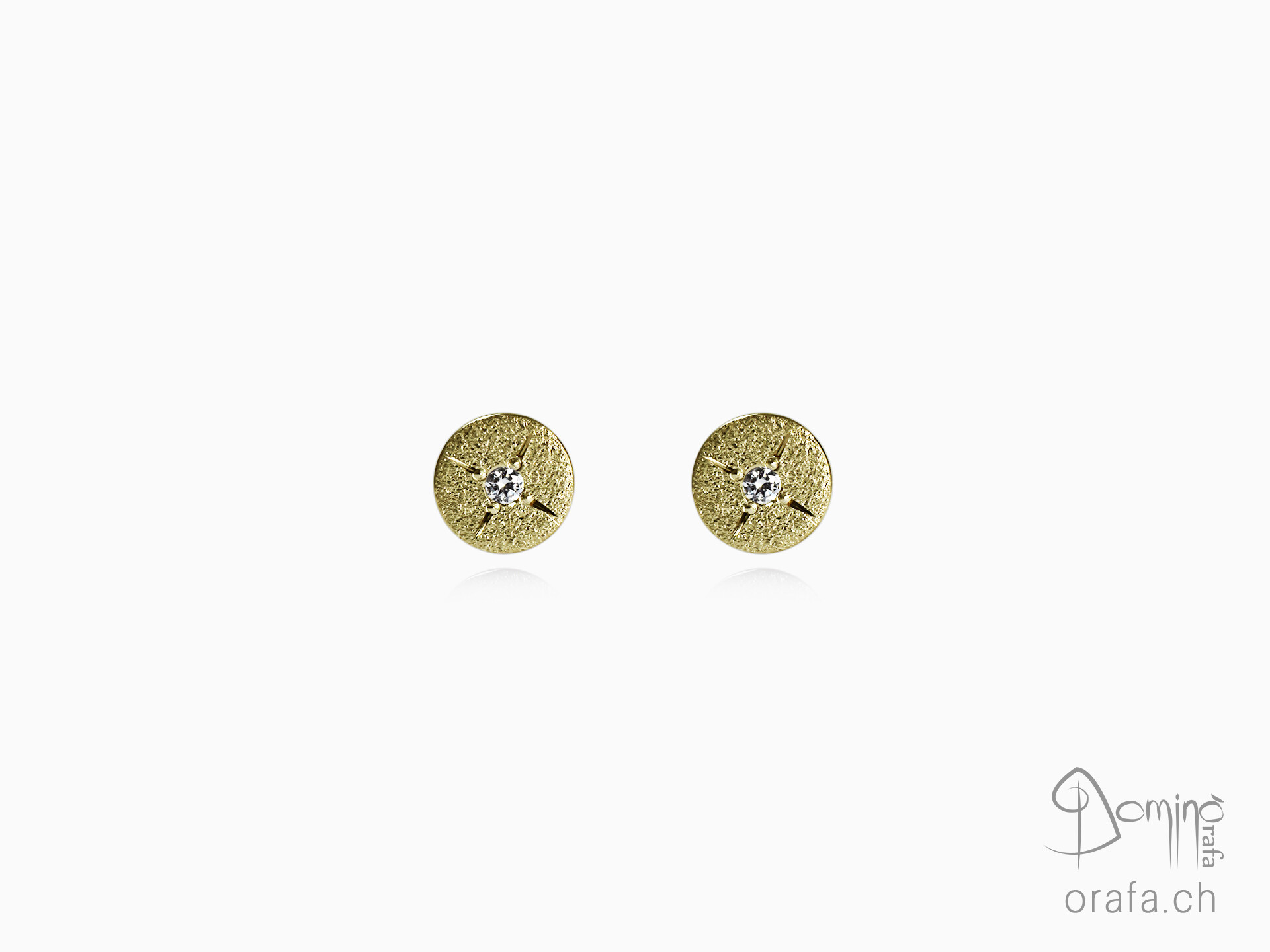 Stars diamonds earrings
