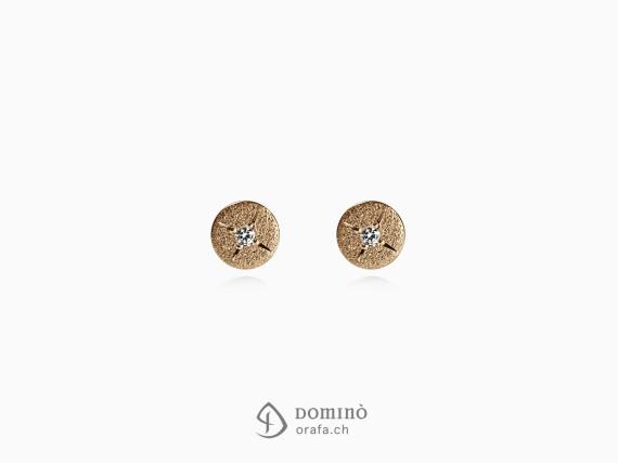 orecchini-piccoli-rotondi-diamanti-oro-rosso