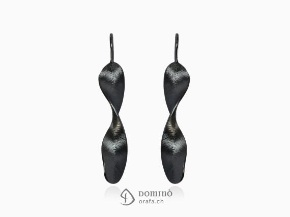 orecchini-piume-nere-oro-bianco