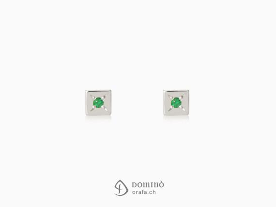 orecchini-quadrati-smeraldi0,02ct-oro-bianco
