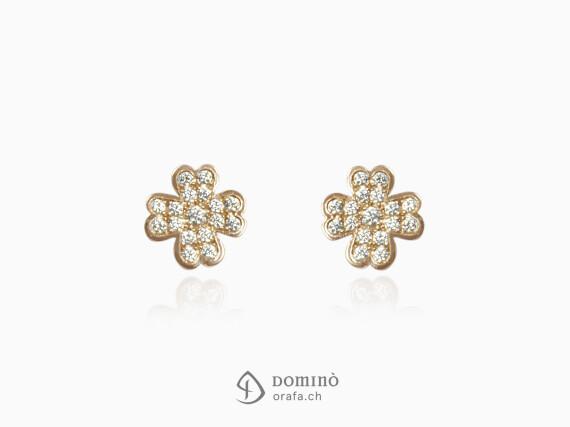 orecchini-quadrifoglio-diamanti-oro-rosso