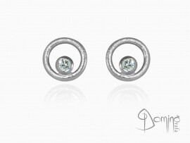 orecchini-rotondi-sabbiati-diamanti-piccoli-oro-bianco