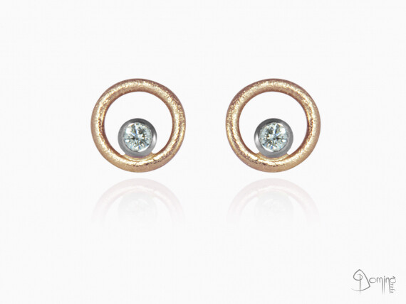 orecchini-rotondi-sabbiati-diamanti-piccoli-oro-bianco-rosso