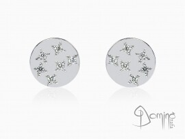orecchini-rotondi-stelle-12-diamanti-oro-bianco