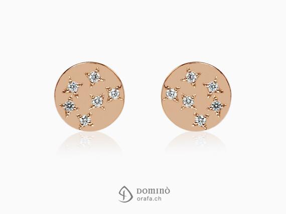 orecchini-rotondi-stelle-12-diamanti-oro-rosso