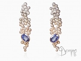 orecchini-sfere-alba-tanzaniti-diamanti-oro-bianco-rosso