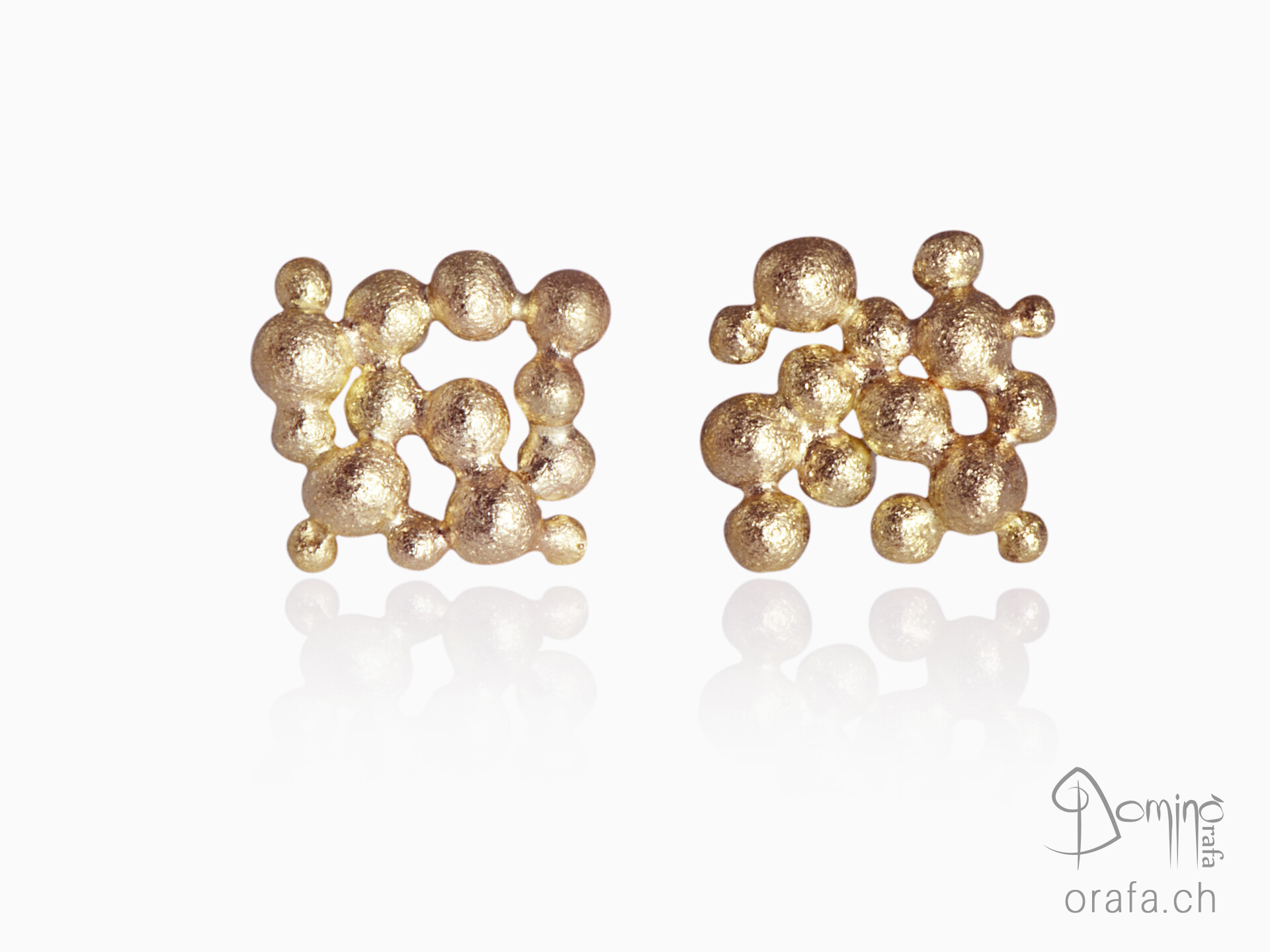 Square Spheres earrings