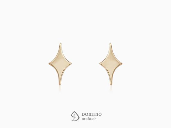 orecchini-stelle-semplici-lucido-oro-rosso