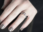 Diamond Cuori solitaire